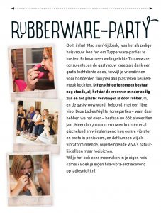 VIVA Rubberware party