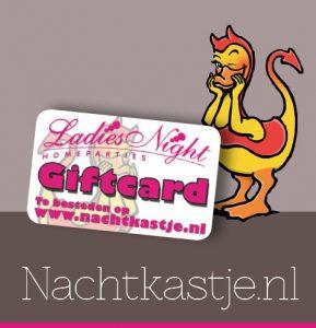 Cadeaukaart Nachtkastje.nl