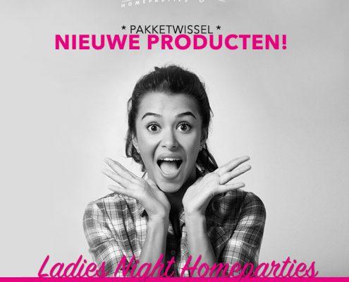 Pakketwissel Ladies Night Homeparties