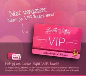 Ladies Night VIP kaart