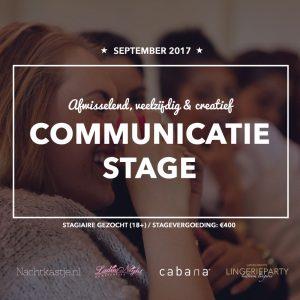 Communicatie stage