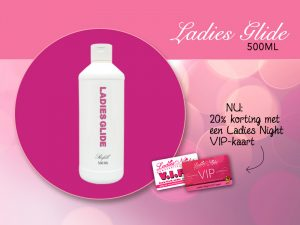 Ladies Glide 20% korting