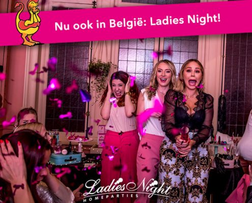 Lancering Ladies Night België