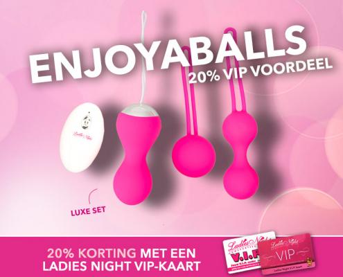 VIP actie! Enjoyaballs