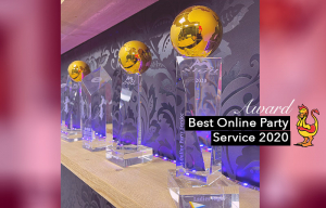 Best Online Party Service Award 2020 Ladies Night