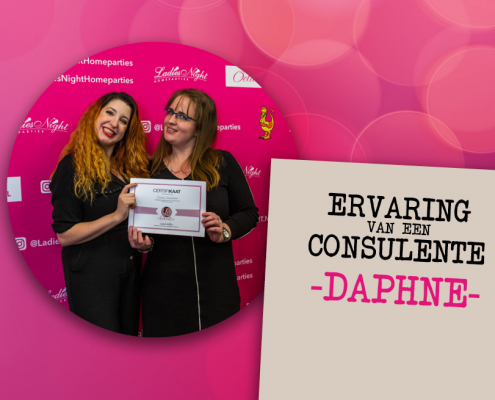 Daphne consulente ervaring Kaat Bollen Ladies Night