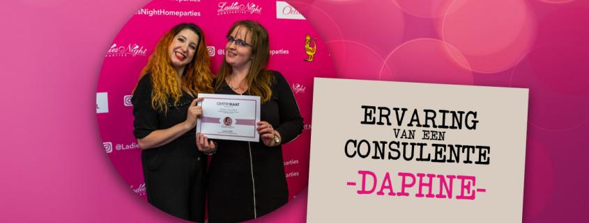 Daphne consulente ervaring Kaat Bollen Ladies Night